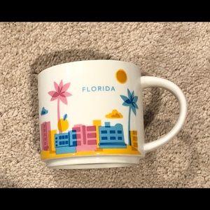 Starbucks Florida You Are Here Coffee Mug